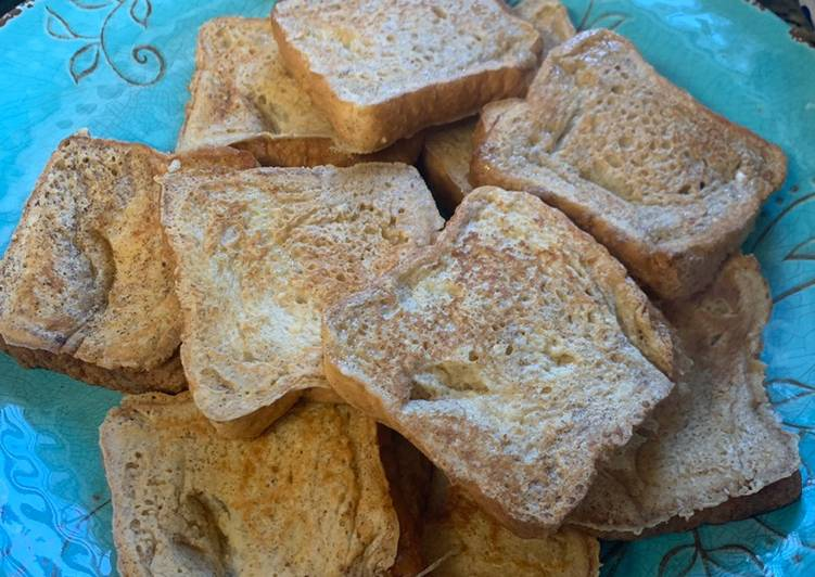 Easiest Way to Prepare Favorite French Toast