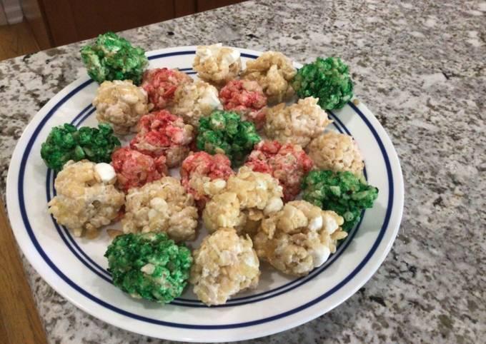 Simple Way to Make Speedy Christmas Rice Krispie Treats