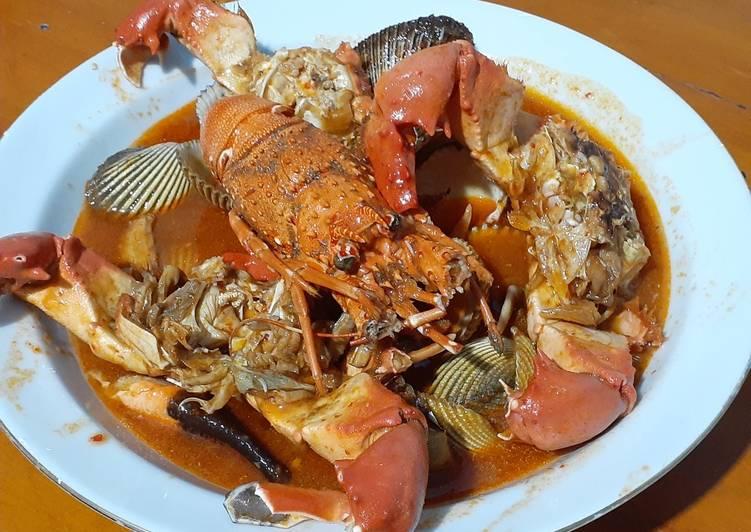 Resep Seafood Saus Padang Kepiting Ngamprak Oleh Nada Arafah Cookpad