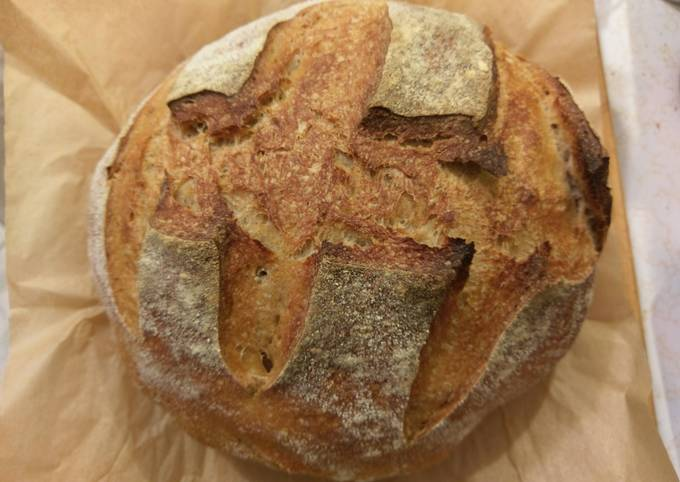 Easiest Way to Make Delicious Basic sourdough bread