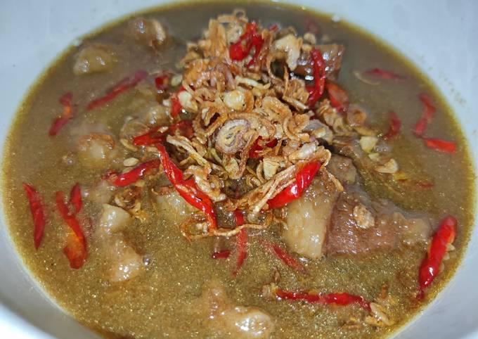 Daging & Lemak Sapi Kuah Kecap - projectfootsteps.org