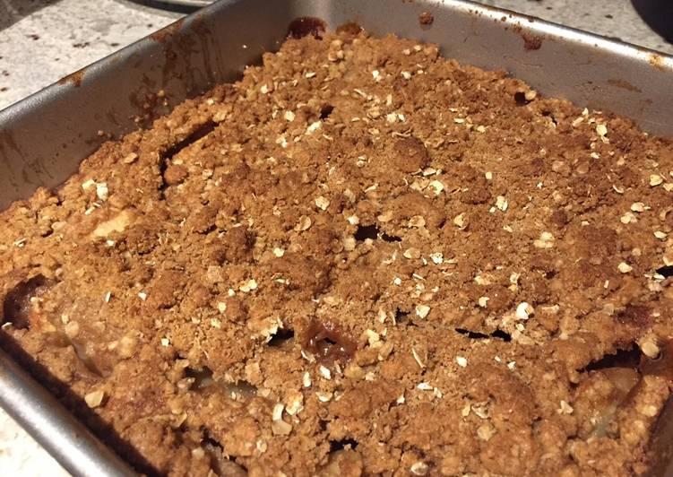 Recipe of Perfect Apple Crisp