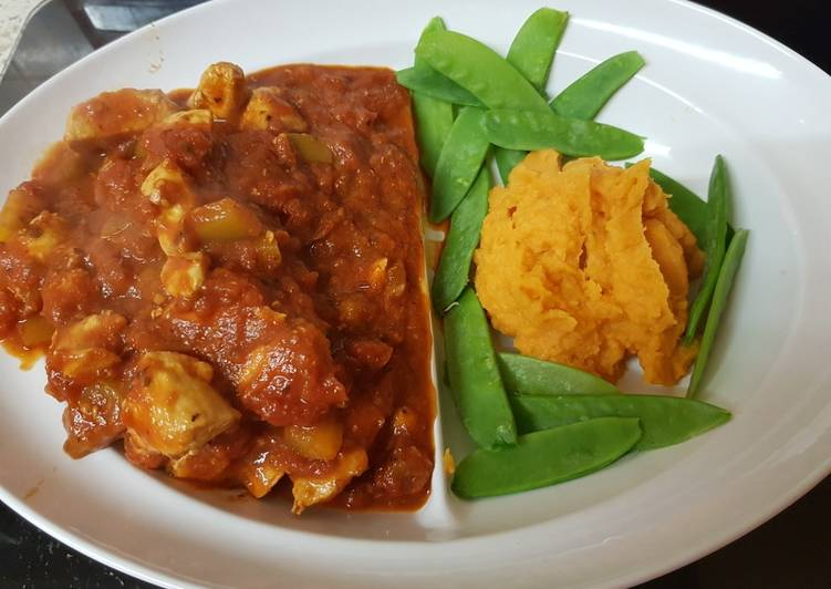 My Italian Style Chicken & Tomatoes Casserole