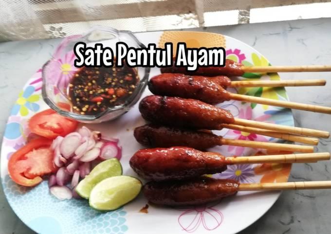 Resep Sate Pentul / Pentol Ayam Anti Gagal