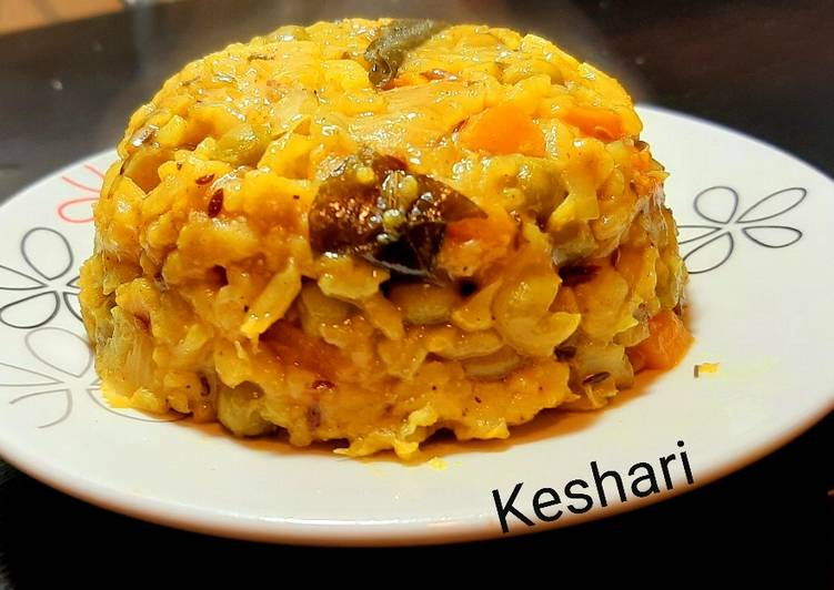Healthy Mixed Veg Khichdi