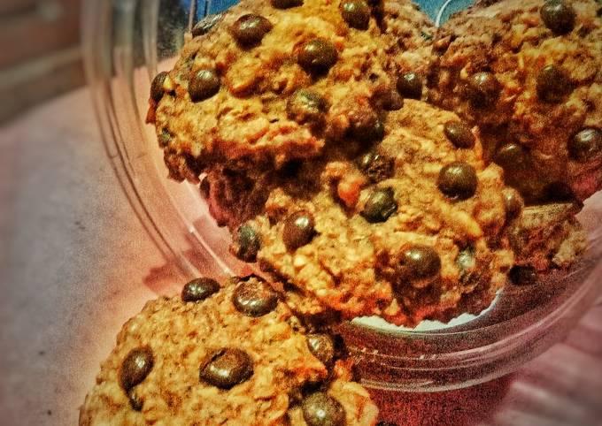 Banana Chewy Choco Chips Cookies