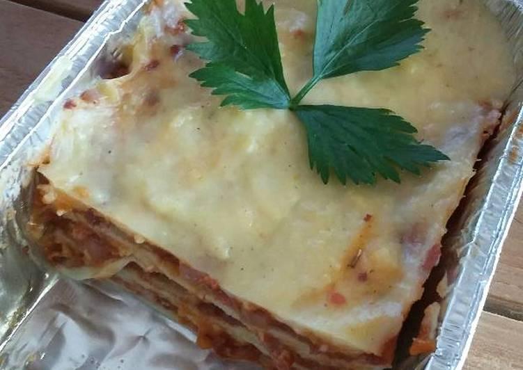 Resep Lasagna Homemade Oleh Umi Syarifah Cookpad