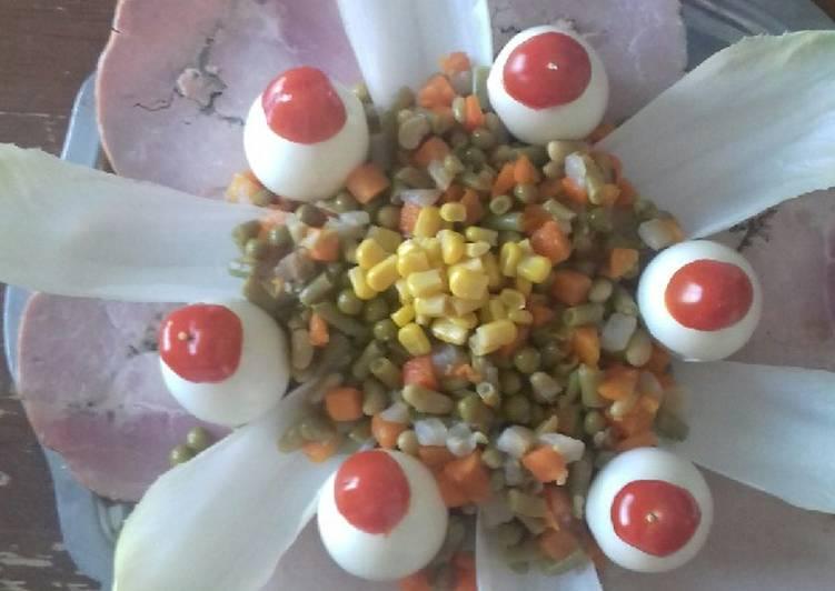 La Meilleur Recette De Nid de paques avec ses legumes #paque