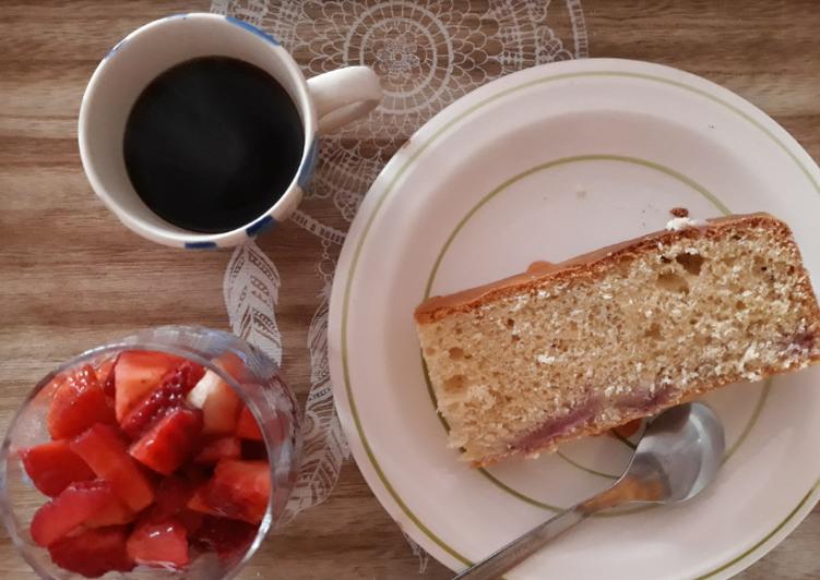 Torta alle fragole (ricetta di Masha e Orso)