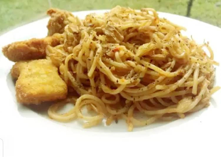 Spageti Hot Tuna