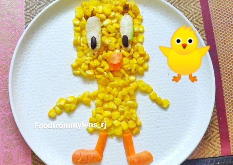 Easiest Way to Make Homemade Corn Tweety