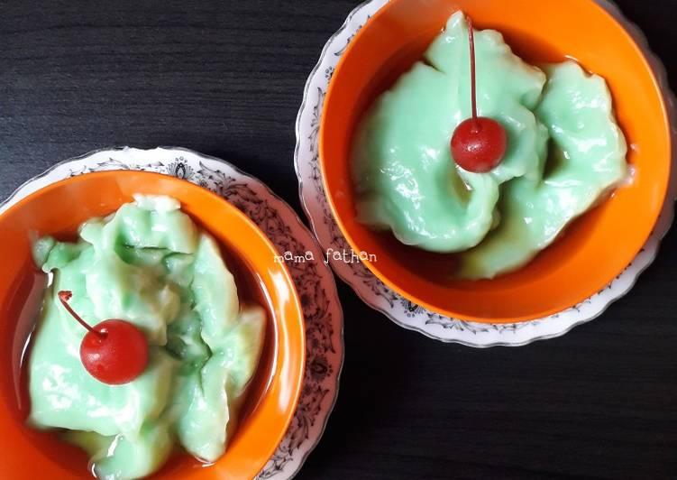 Resep Bubur Sumsum Pandan Oleh Mama Fathan Cookpad