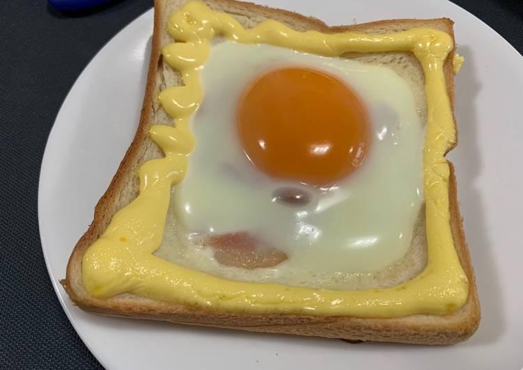 Mayonnaise & Egg Toast