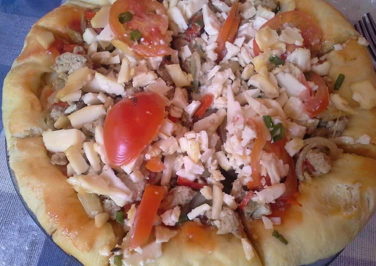 Pizza Tuna teflon