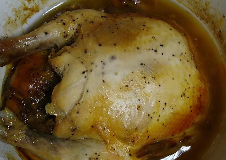 Steps to Prepare Perfect Honey Chicken with Salt and Pepper in Slow Cooker
