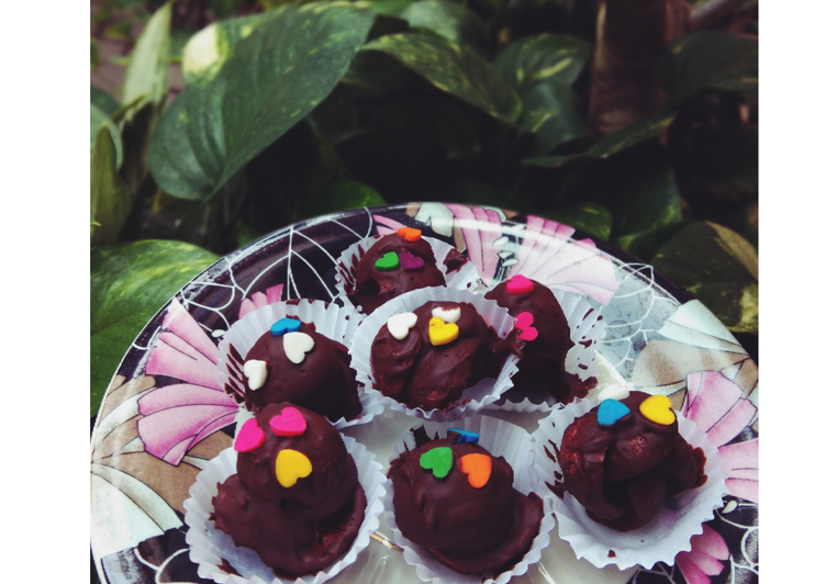Kue lebaran, chocolate coco crunh, simple #bikinramadanberkesan