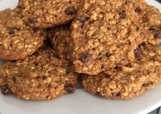 Cookies à la compote et pépites de chocolat