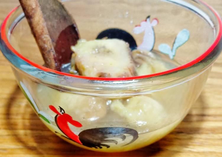 Resep Setup pisang kayu manis stup minuman hangat diet gula