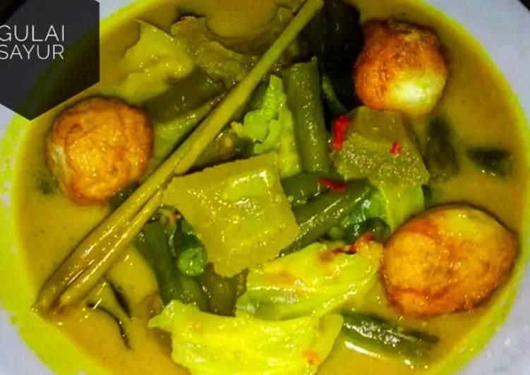 Gulai Sayur