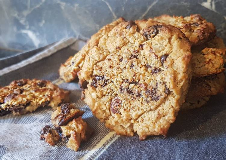 50• 🍪 Cookies «Healthy» aux pois chiches 🍪