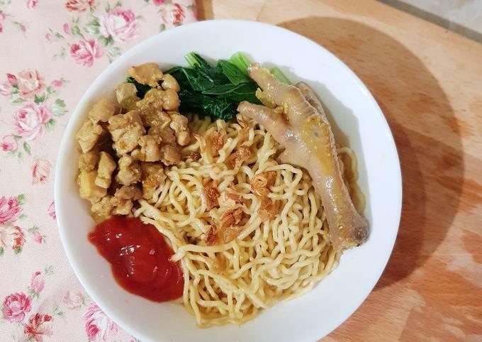 Bahan-bahan 108. Mie Ayam (Resep Jualan Aza Kitchen) yang nikmat Untuk Jualan