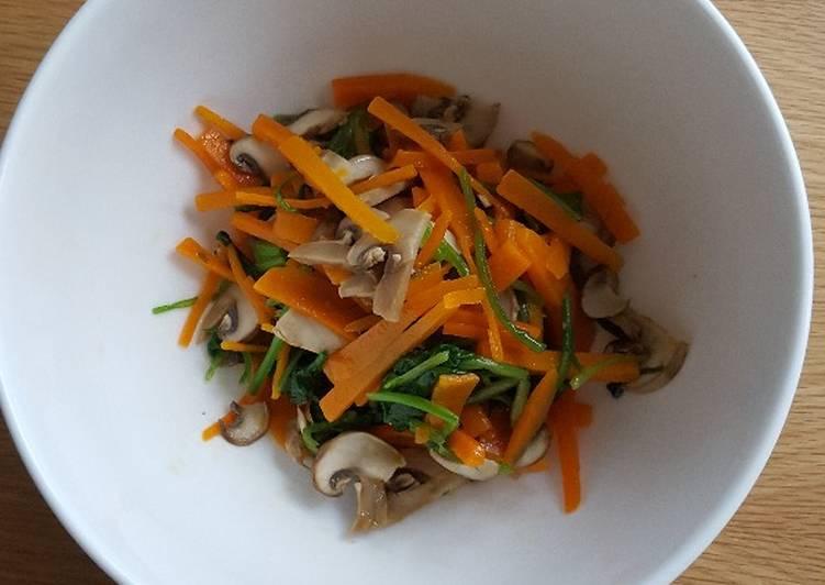 Recipe of Homemade Sesame oil salad