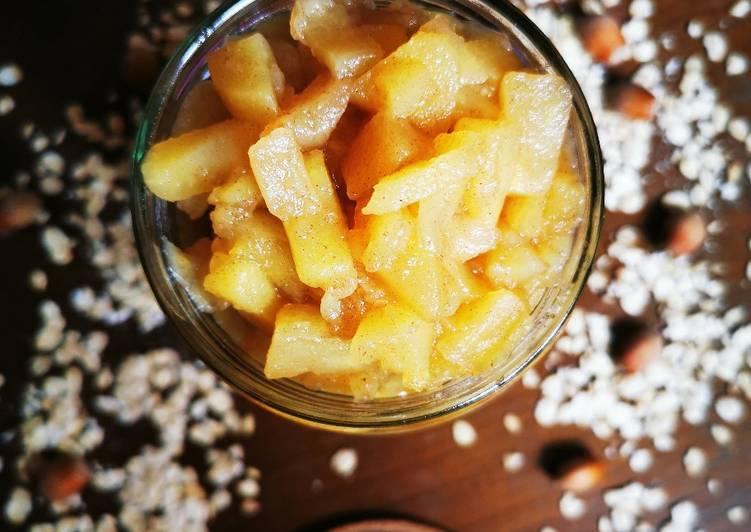 Compotée de Pommes