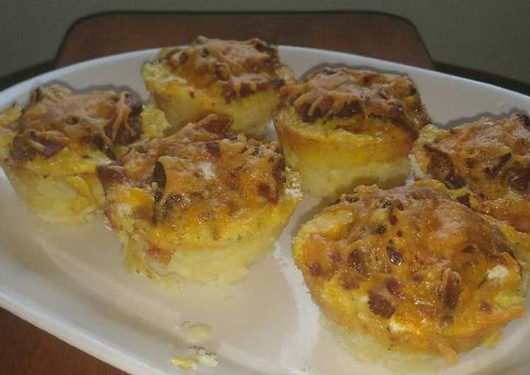 Meat Lover's Breakfast Cups