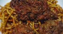 Hình ảnh món Mì Ý meatball