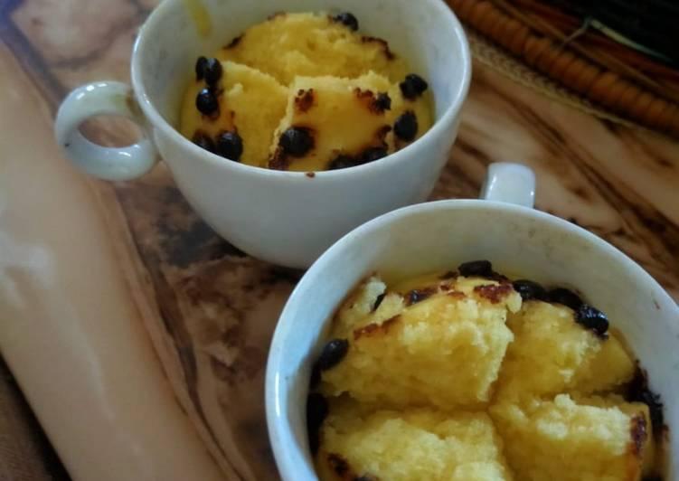 Dessert bolu tanpa telur dan tanpa oven simple