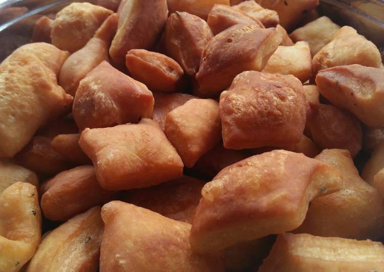 Eggless Rosemary n Cardamom mandazis #charityrecipe