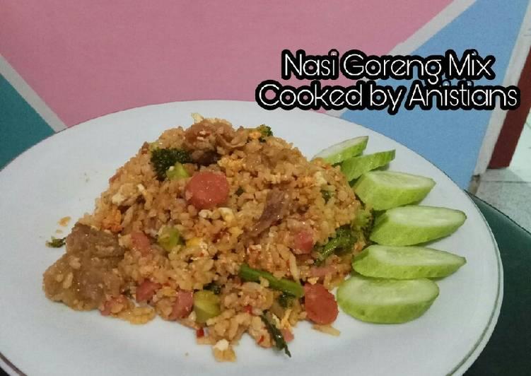 Resep Nasi goreng bikin suami betah dirumah 😅 #RabuBaru Paling Gampang