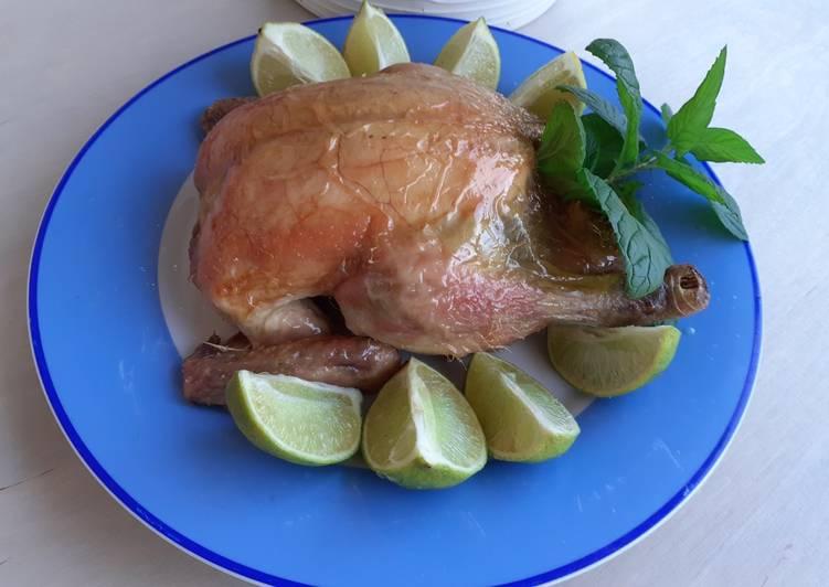 Ricetta Pollo Arrosto con Lime e Menta