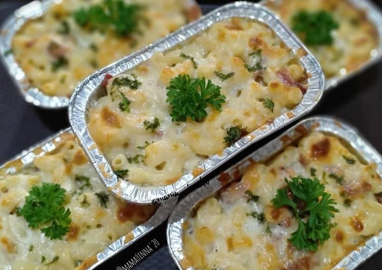️ Resep Macaroni Schotel Panggang sederhana dan enak