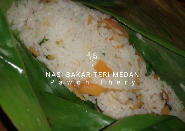 Nasi Bakar Teri Medan