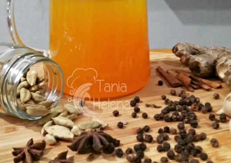 Recipe: Tasty Herbal syrup