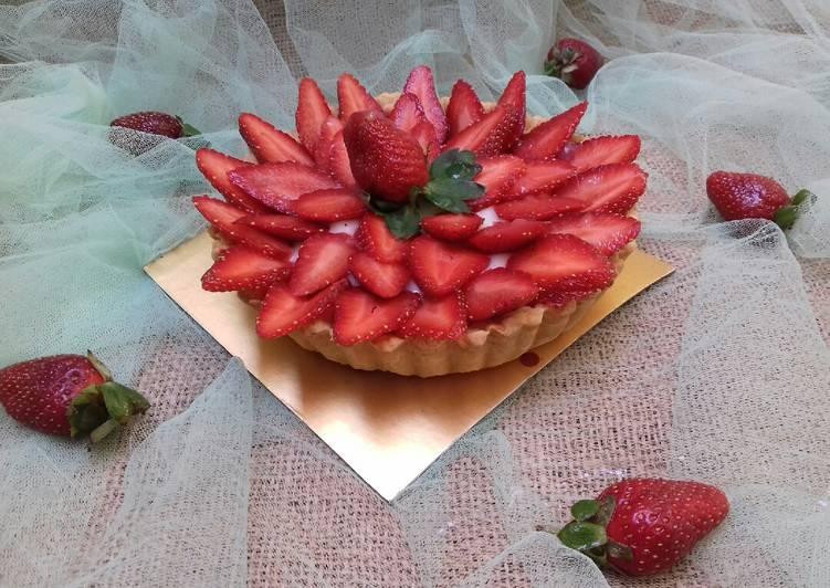 Resep Pie Buah Strawberry Bikin Laper