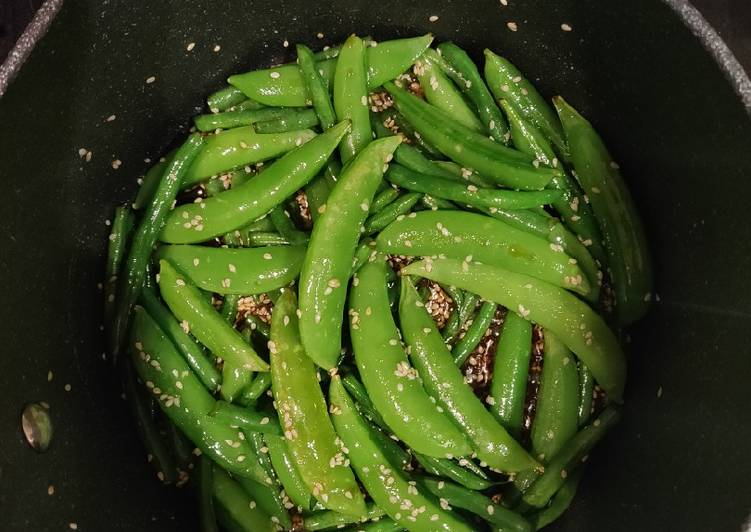 Steps to Prepare Favorite Sweet & Sour Green Beans