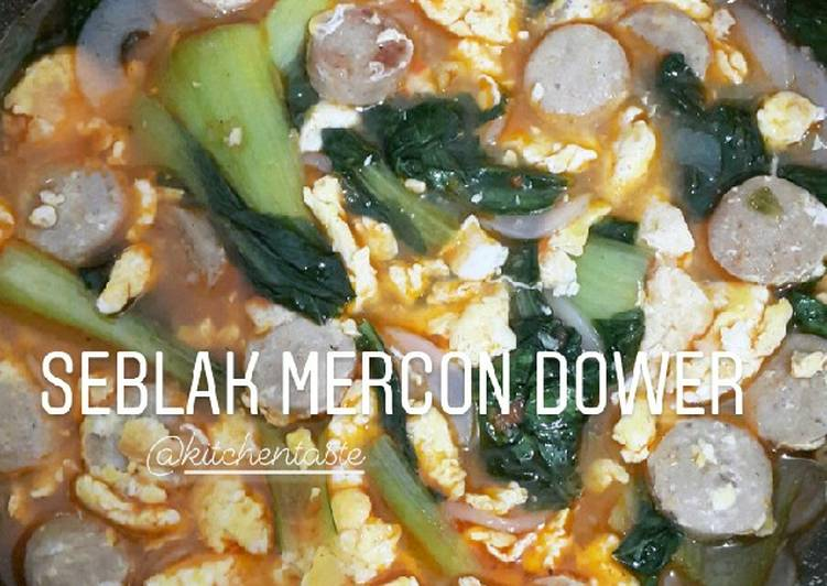 SEBLAK MERCON DOWER ala Kitchentaste