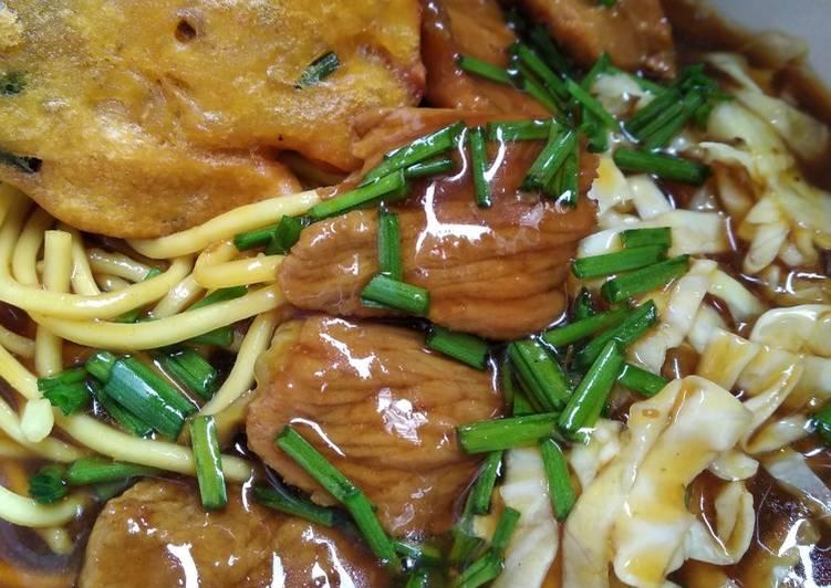 Resep Mie ongklok khas wonosobo Paling Mudah