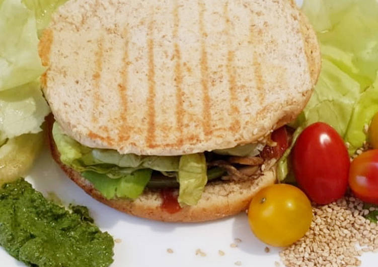 Maniere simple a Faire Prime Veggie burger