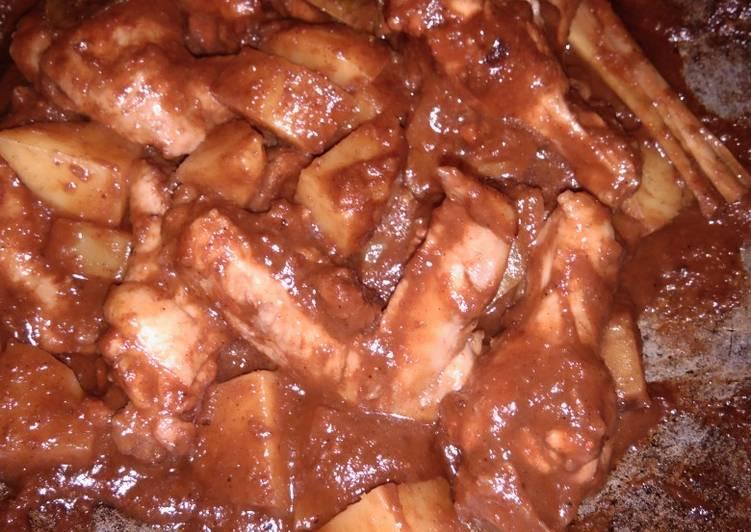 Resep Rendang ayam kentang Yang Mudah Endes