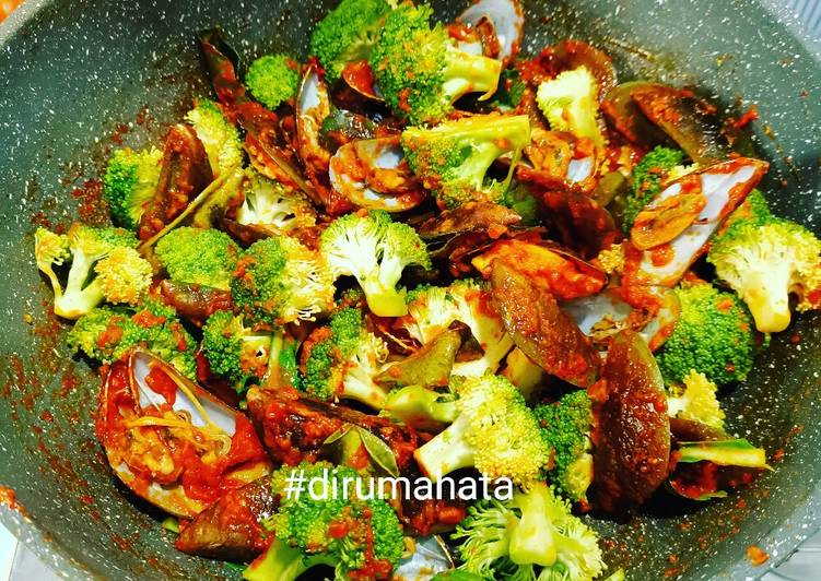 Kerang Hijau Brokoli Saos Padang ❤️