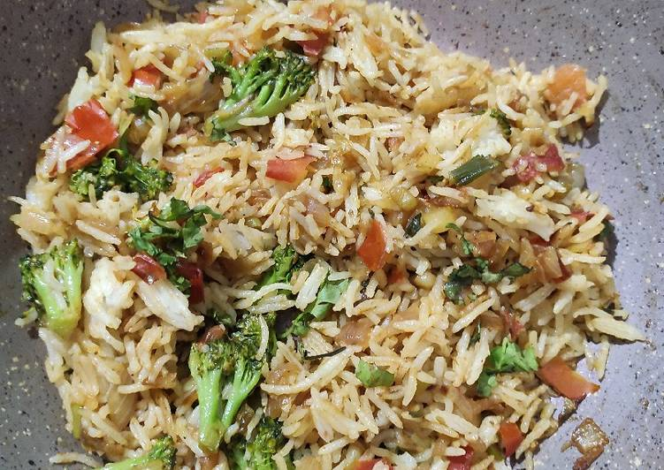 Easiest Way to Make Super Quick Homemade Broccoli Fried Rice