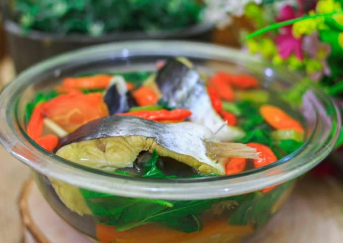 Cara Memasak Sup Patin Kemangi Kuah Bening, Lezat Sekali