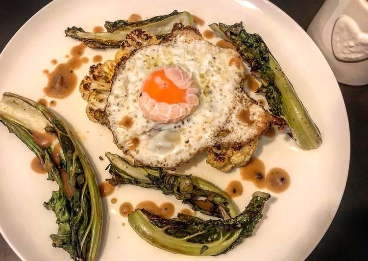 Recipe of Award-winning Cauliflower Steak
