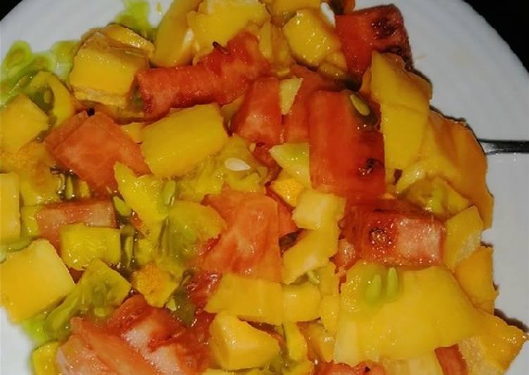 Steps to Prepare Speedy Fruit salad