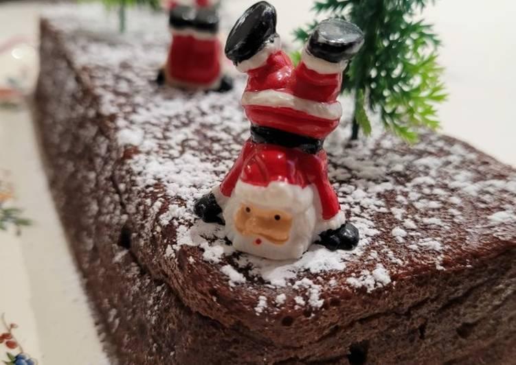 Fondant de fêtes chocolat/marron