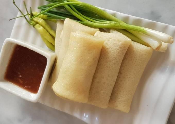 Chicken Bambooshoot Spring Roll (Lumpia)
