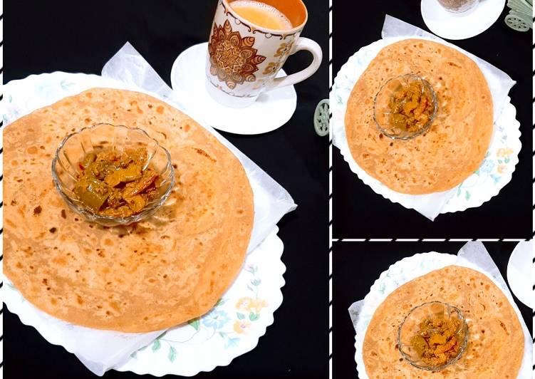 Simple Way to Prepare Delicious Achari Masla with Paratha & Chai☕